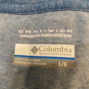 Columbia Shirts - Quarter 2 button. COLUMBIA long sleeve